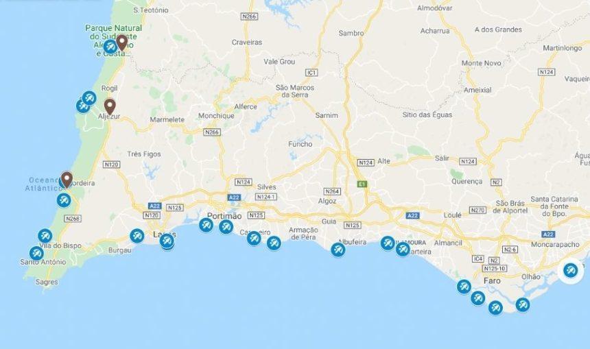 google map screenshot