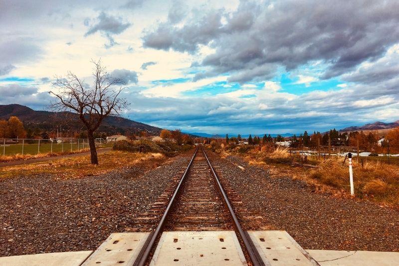 Ashland Oregon train track