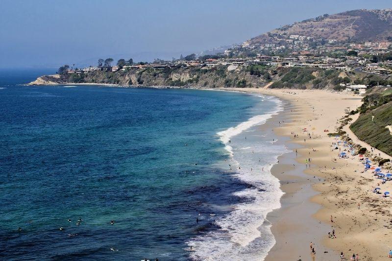 Dana Point beach overview