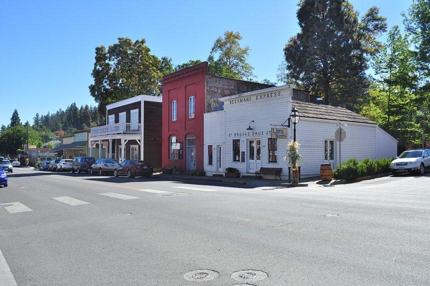 Jacksonville Oregon historic center