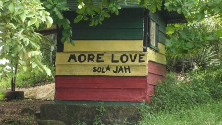jamaica shack in national colors