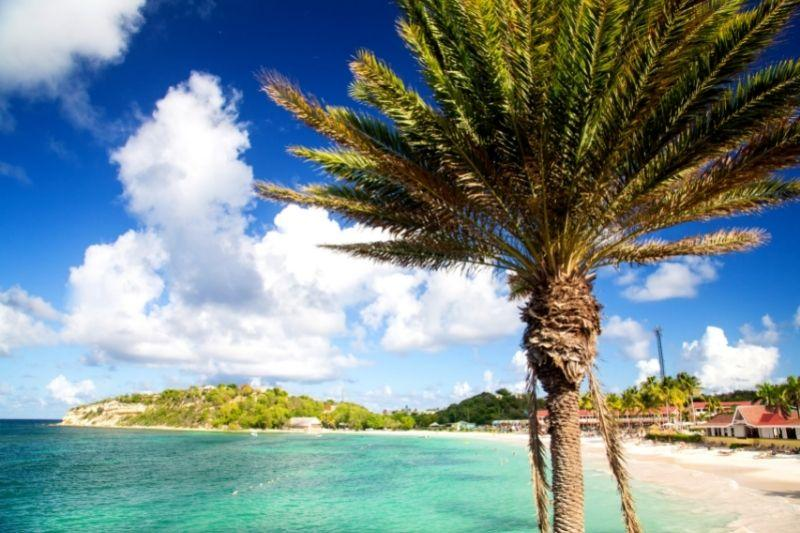 Long bay beach Antigua