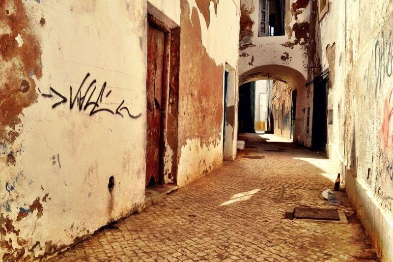 Olhão back street