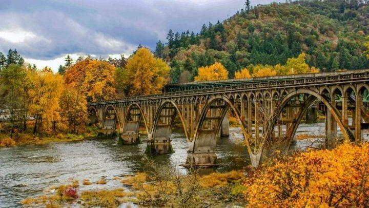 Oregon Scenery fall