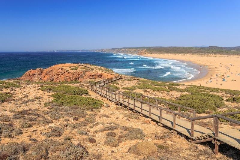 Praia da Bordeira - Algarve Portugal