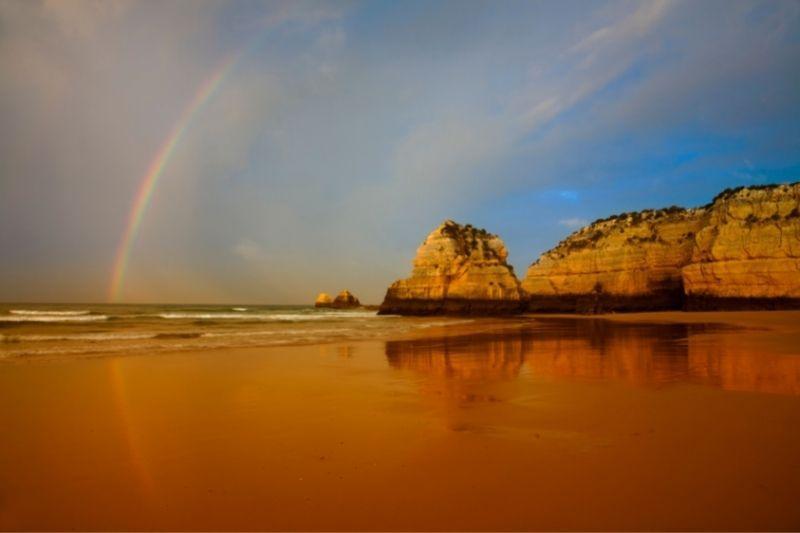 Praia da Rocha rainbow
