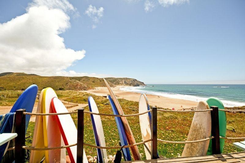 Praia do Amado - surf school - Algarve - Portugal
