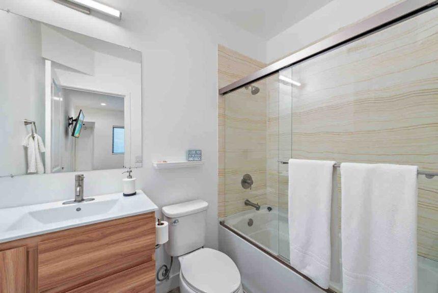 private condo  bathroom