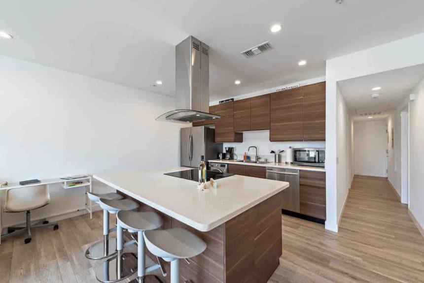 private condo  kitchen