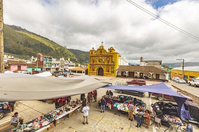 San Andres Xecula church