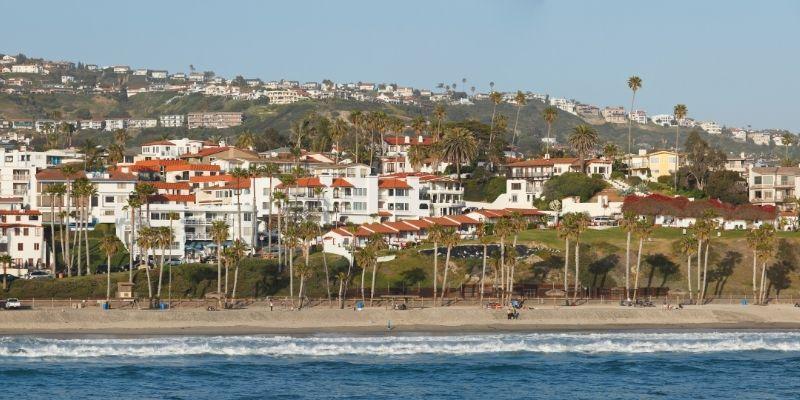 San Clemente City Beach overview