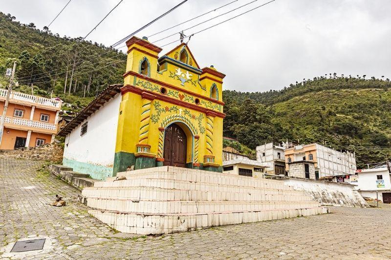 San Andres Xechul chapel