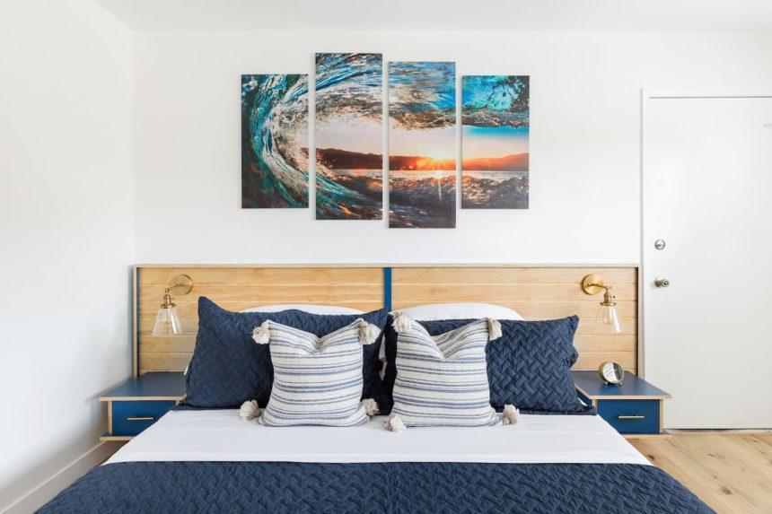 surf shack bedroom