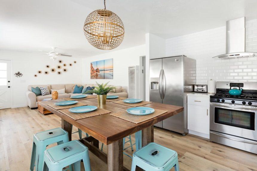 Surf shack kitchen