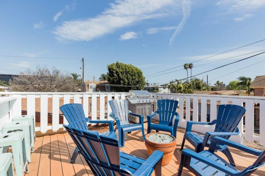 surf shack Terrace - Huntington Beach Airbnb