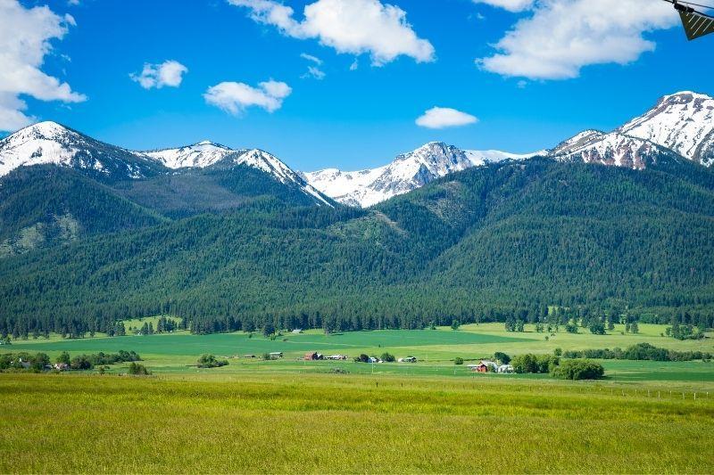 Willowa Mountain near Joseph