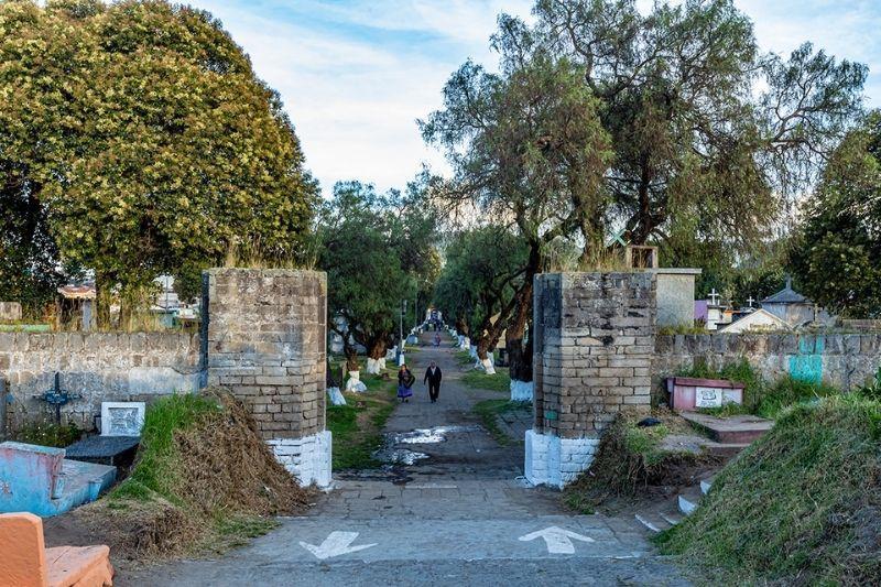 cemetery xela entrance