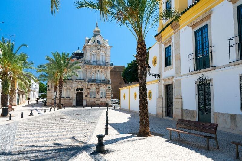 Faro Algarve - square