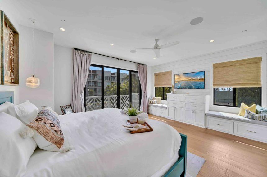 Coastal paradise bedroom