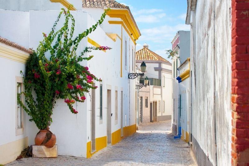 Street in Faro Algarve