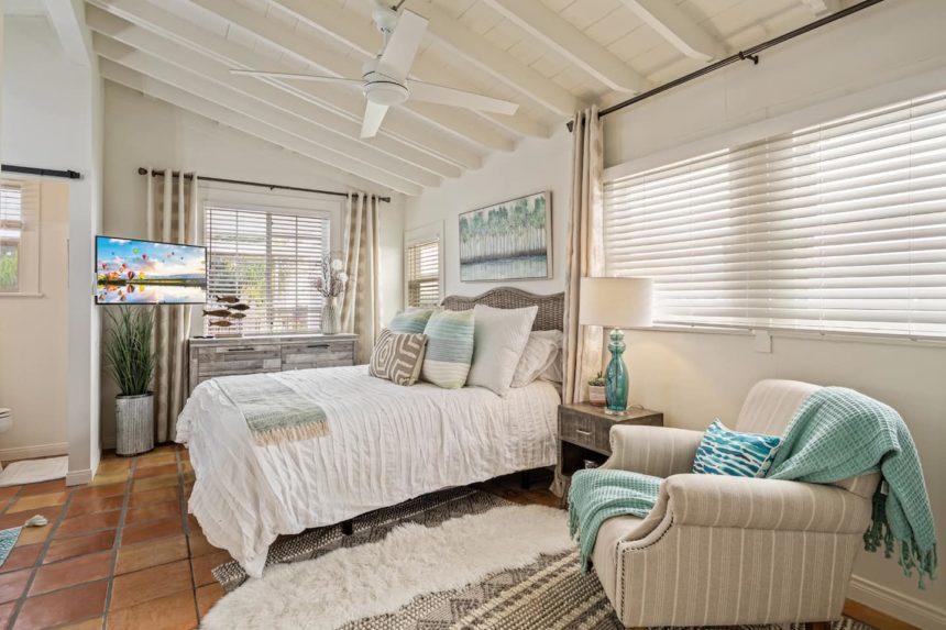Love shack main bedroom