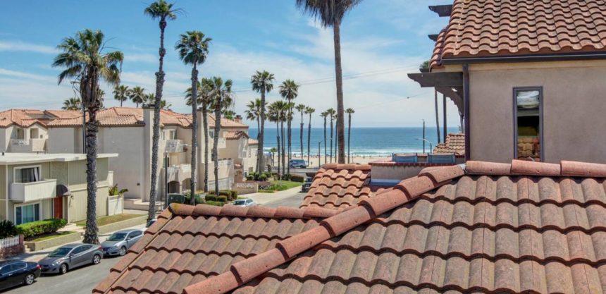 luxury home views to the beach