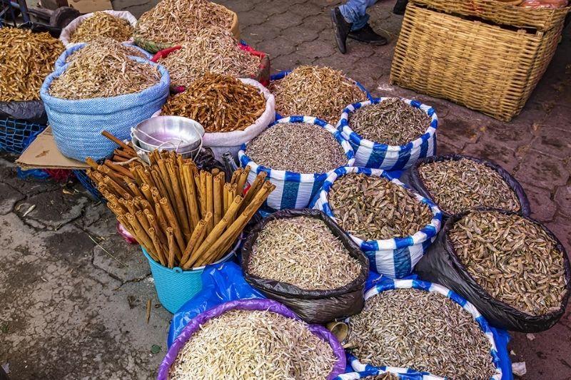 San Cristobal totonicapan species in the market