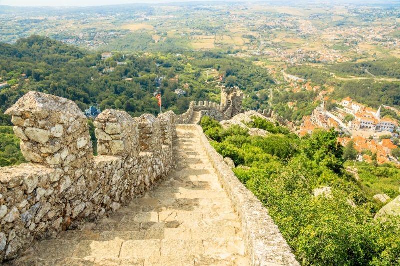 moorish castle walls