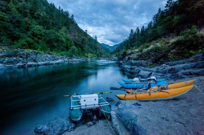 Rafting Camp in Rogue River Oregon