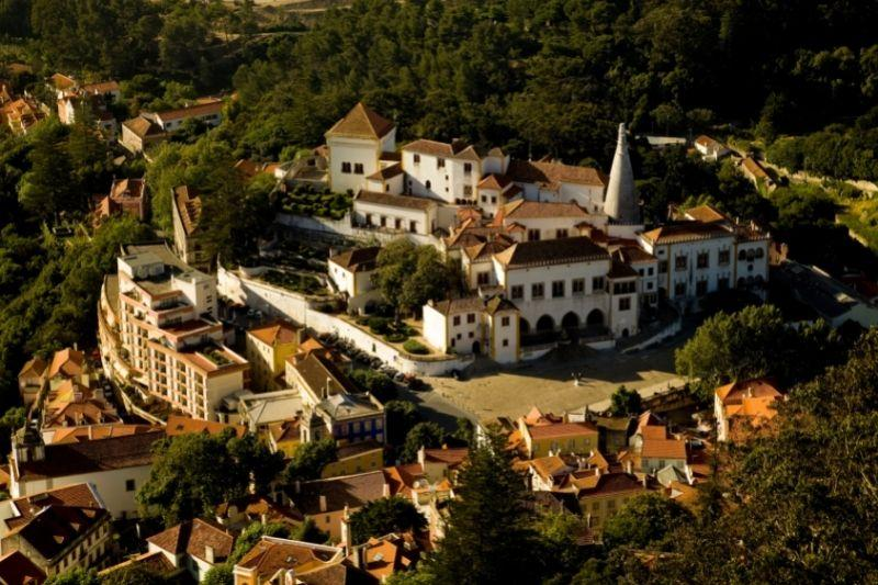 Sintra aerial view