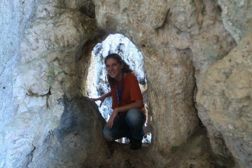 tanya in the cave
