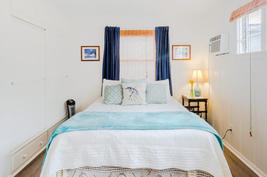 vintage cottage bedroom