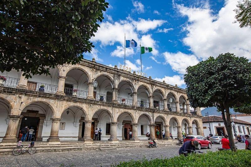 Antigua Governament building