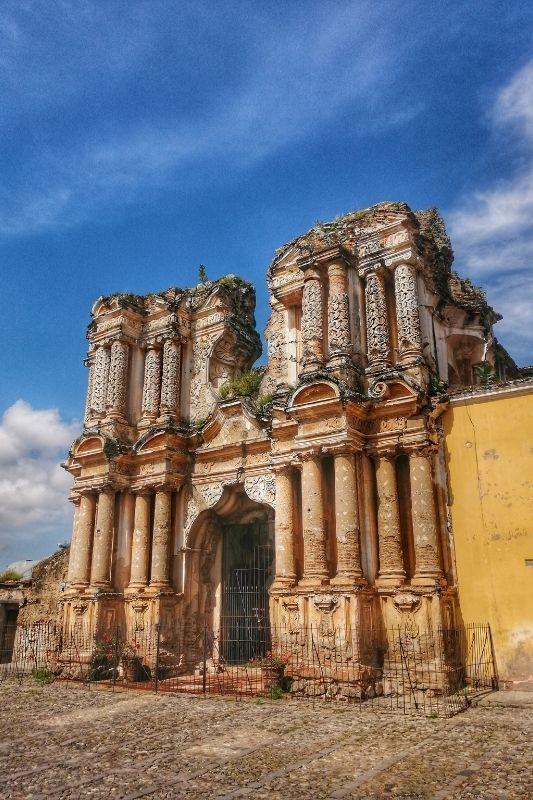 Antigua EL Carmen Church
