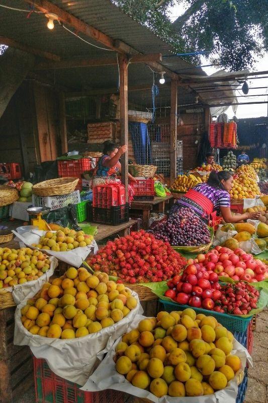 Antigua Market fruits
