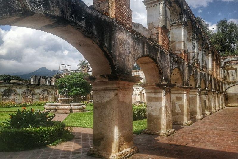 Antigua Santa Clara arches