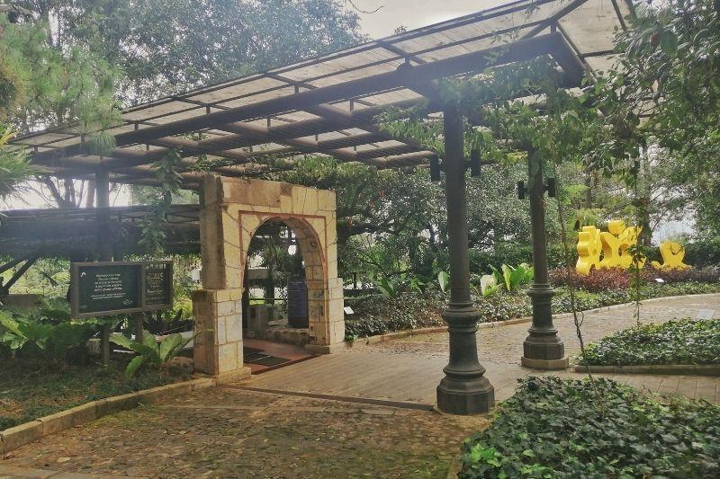 El tenedor - museo del cerro entrance