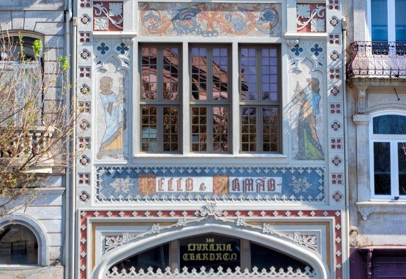 LELLO BOOK STORE FACADE IN PORTO