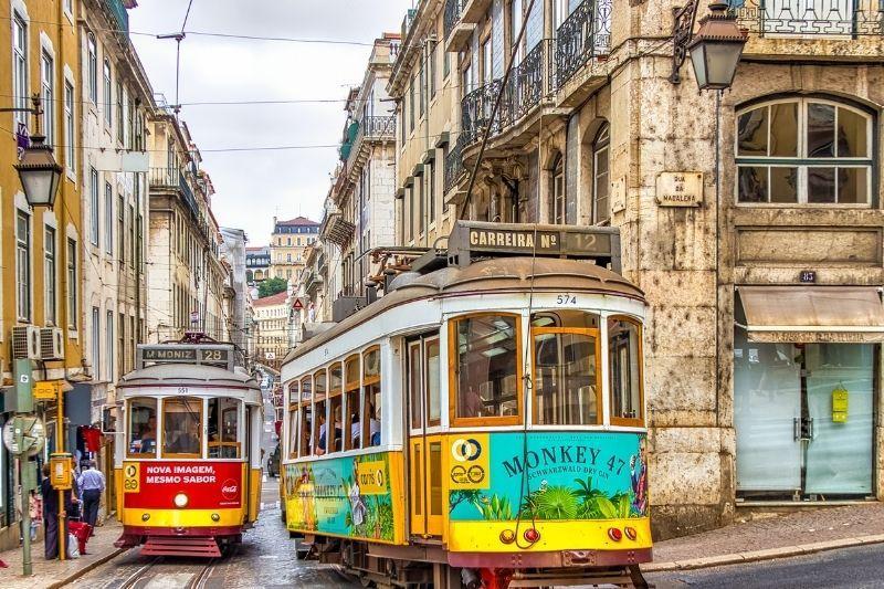 Lisbon Portugal tramcar