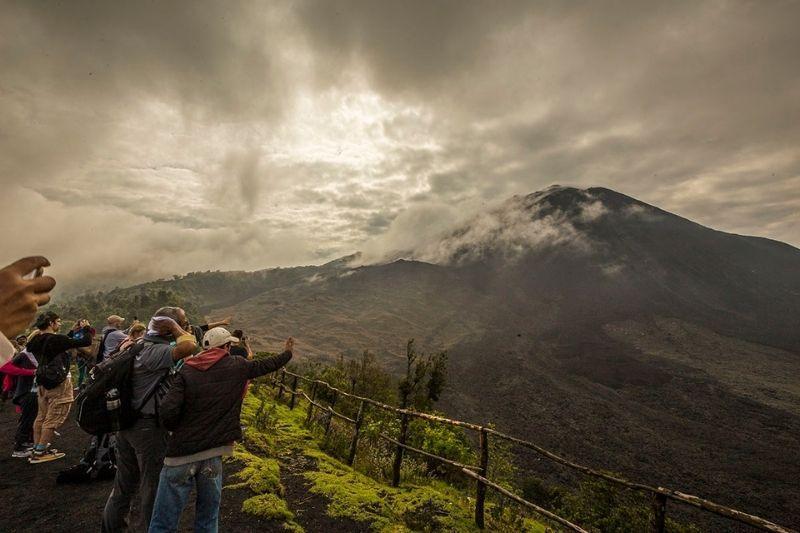 Pacaya Volcano lookout
