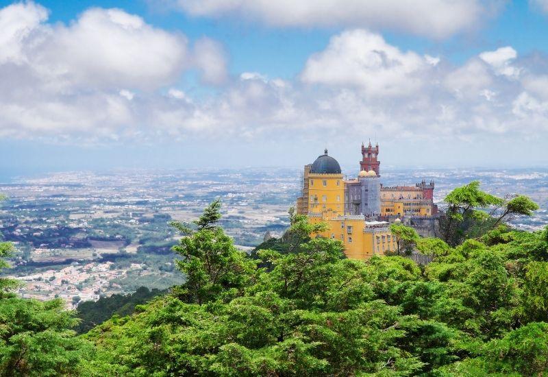 Sintra Castle - Landmarks in Portugal