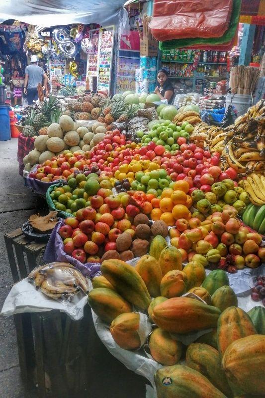 Antigua fruit market