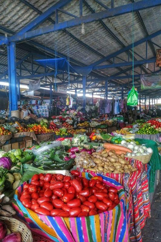 antigua veggie market