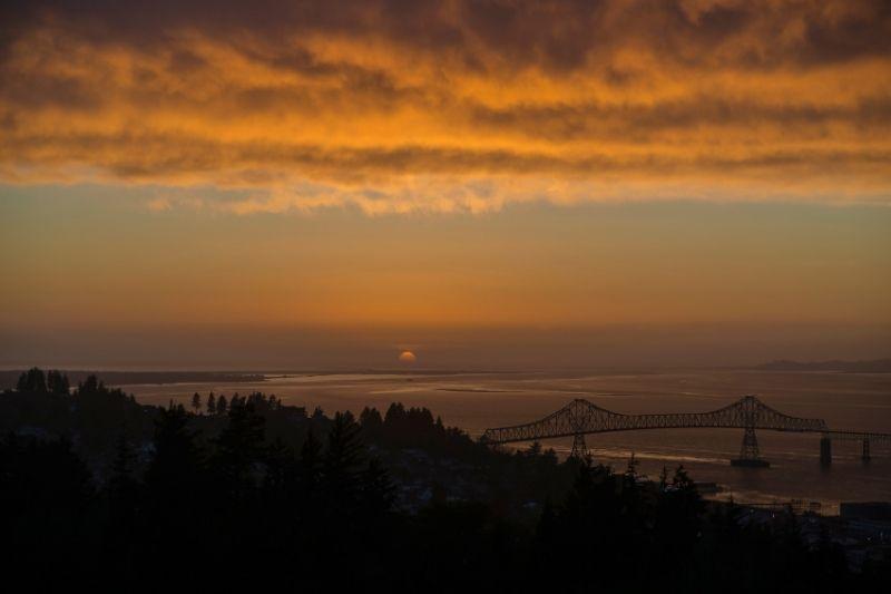 Astoria Oregon Sunset