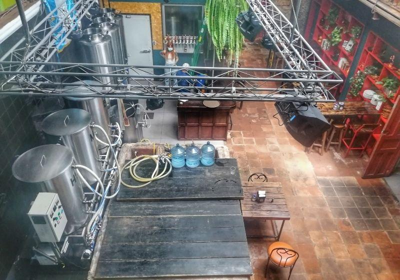 Brewery indoor