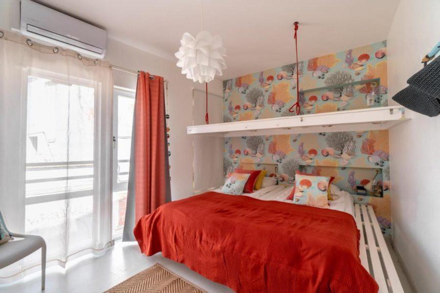 Camone hostel room