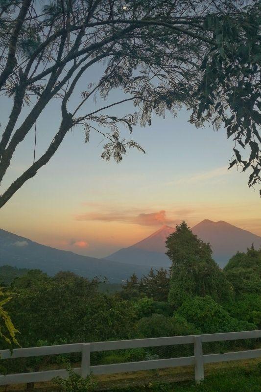 el pilar sunset