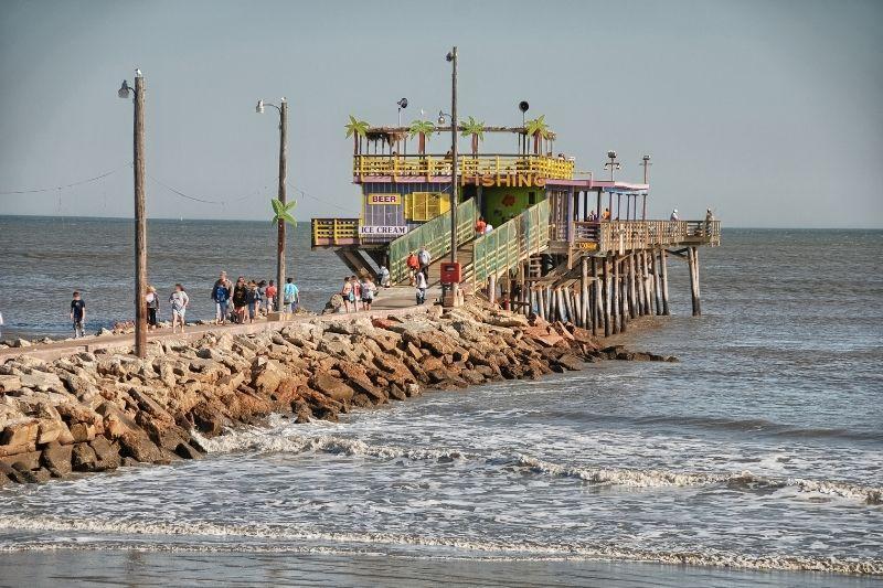Galveston texas harbor