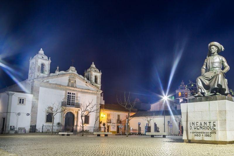 Lagos Portugal By night