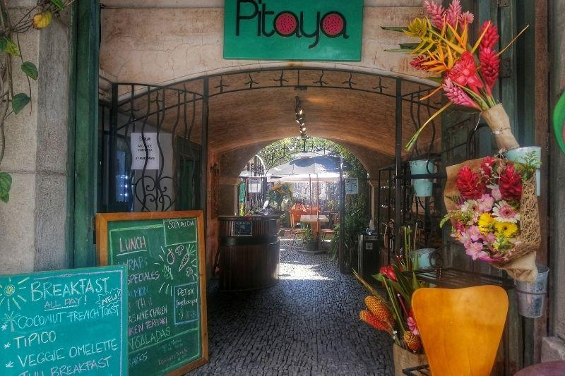 Pitaya entrance